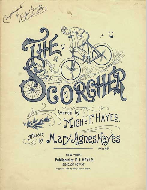 """1af73e988bc But it was sometimes bicyclists who caused the danger. """"Scorchers"""" gave  cyclists a bad name."""