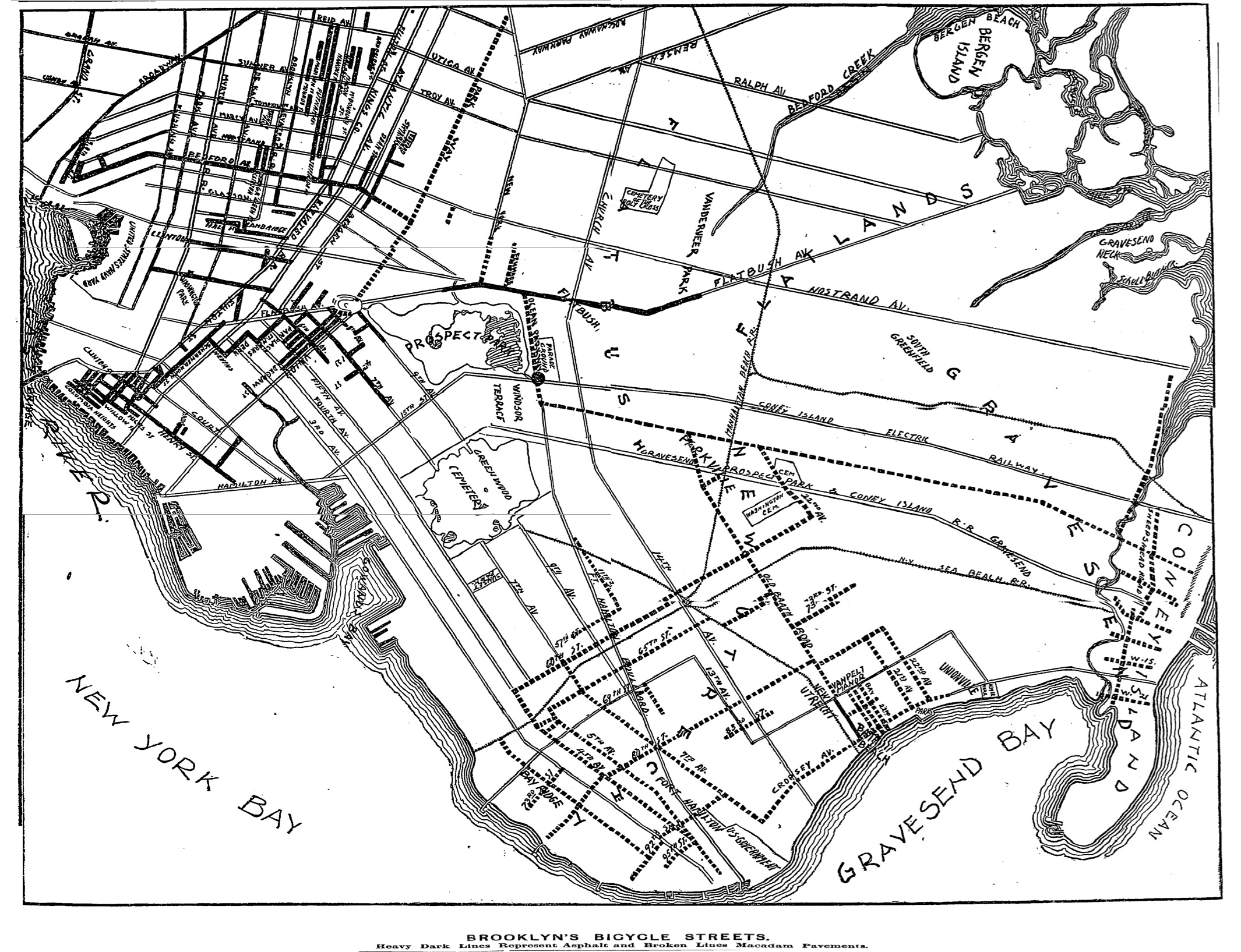 New York City once had the best bike path in the world