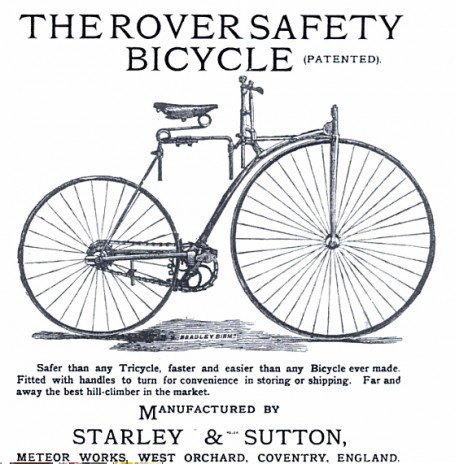 starley-rover-safety-bicycle1884
