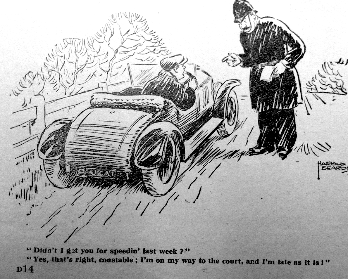 Roads Were Not Built For Cars | Spectator, 1925: Ban fast cars ...