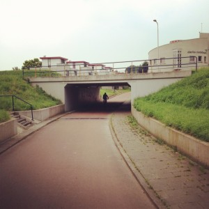 Houten underpass. Pic by Amsterdamize.com