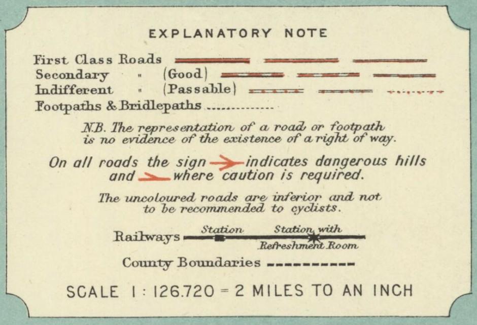 Bartholomew map, 1902
