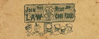 joinLAWRideonGoodRoads1897CyclistsRoadMapofHudsonRiverGeoWalker