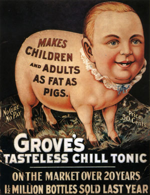 Groves Tasteless Chill Tonic, 1897