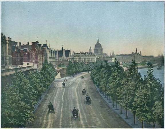 Thames Embankment, 1897