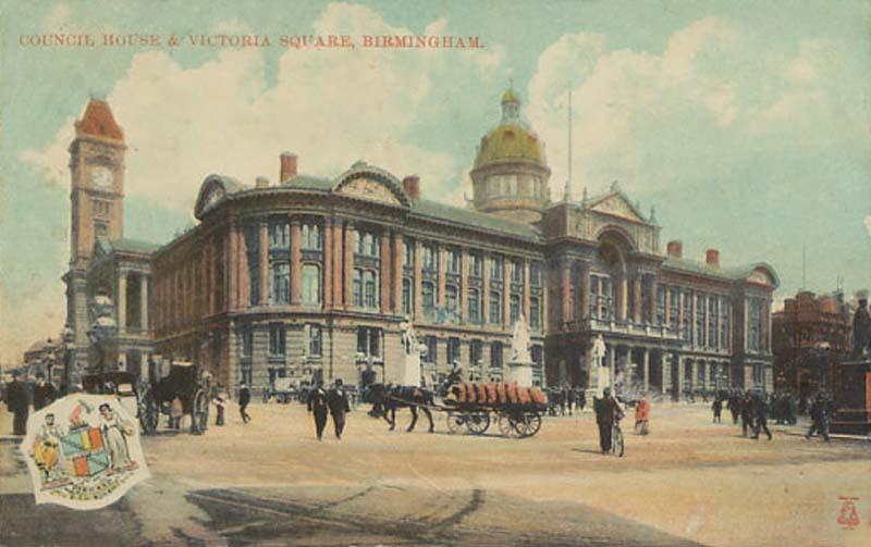 birminghamcouncilhousevictoriasquare-1900s