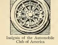 Automobile Club of America logo 1900