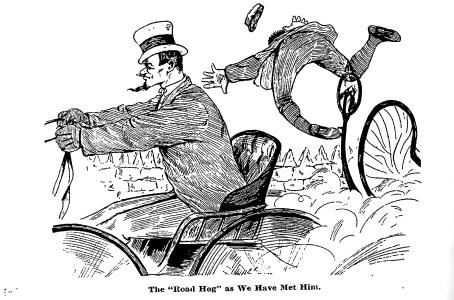 Road Hog as have met him 1889