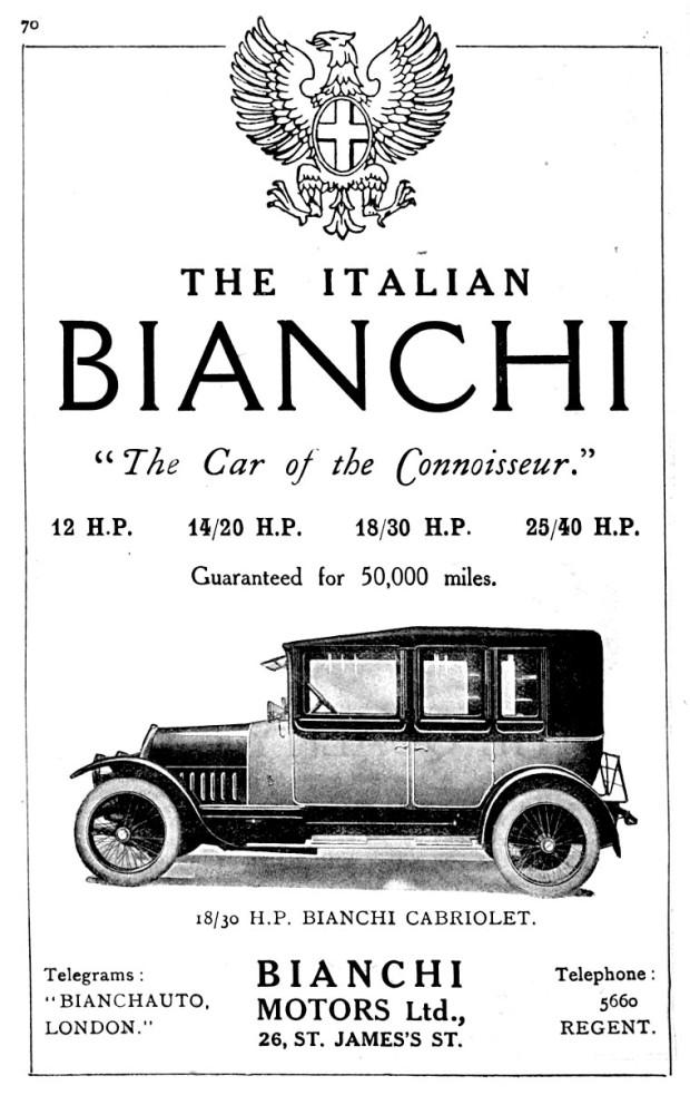 BianchiAdvert 1917