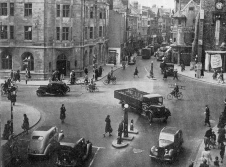 Carfax Tower in 1948.